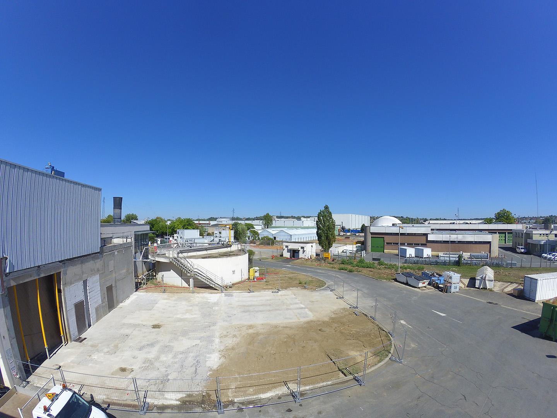 ZONE BATIMENT EX-SECHEUR<br />Zone libérée apres deconstruction du bâtiment et des équipements